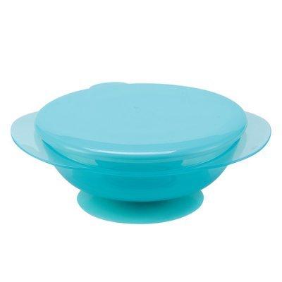 Тарелка детская Happy Baby на присоске с крышкой EAT &amp; CARRY голубой (EAT &amp; CARRY 15002 new blue)Тарелки Happy Baby<br><br>