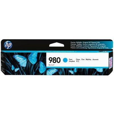 Картридж для струйных аппаратов HP № 980 D8J07A голубой (D8J07A)Картриджи для струйных аппаратов HP<br>для HP Officejet Enterprise Color X585/X555 (6600стр.)<br>