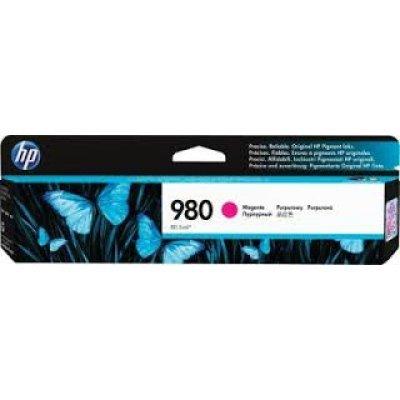 Картридж для струйных аппаратов HP № 980 D8J08A пурпурный (D8J08A)Картриджи для струйных аппаратов HP<br>для HP Officejet Enterprise Color X585/X555 (6600стр.)<br>