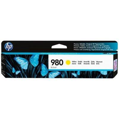 Картридж для струйных аппаратов HP № 980 D8J09A желтый (D8J09A)Картриджи для струйных аппаратов HP<br>для HP Officejet Enterprise Color X585/X555 (6600стр.)<br>