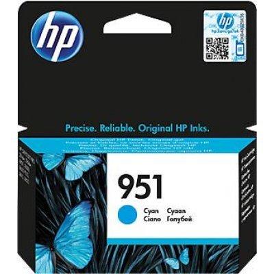 Картридж для струйных аппаратов HP № 951 CN050AE голубой (CN050AE) картридж для струйных аппаратов hp cn622ae голубой cn622ae