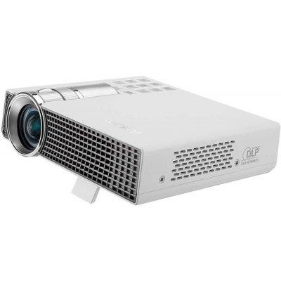 Проектор ASUS P2B  (90LJ0031-B01020) (90LJ0031-B01020)Проекторы ASUS<br>Asus P2E способен проецировать изображение с разрешением 1280x800 пикселей, передавая любую мелкую деталь, которую только можно увидеть на экране компьютера. Данный проектор способен проецировать изображение с яркостью 350 лм, а технология DLP обеспечивает четкость мелких деталей.<br>