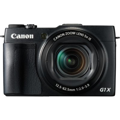 Цифровая фотокамера Canon PowerShot G1 X Mark II черный (9167B002) for canon g1x ii powershot meikon 60m 195ft underwater waterproof camera housing case g1x mark ii