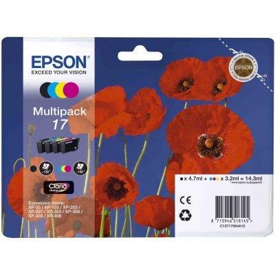 Картридж для струйных аппаратов Epson T17064A10 (C13T17064A10)Картриджи для струйных аппаратов Epson<br>Набор картриджей Expression Home XP<br>