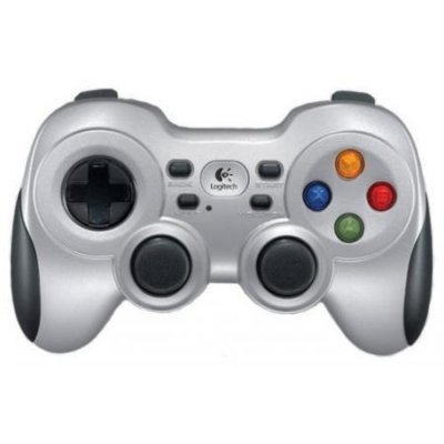 цена на Геймпад для ПК Logitech Gamepad Wireless F710, USB, (G-package), [940-000145] (940-000145)