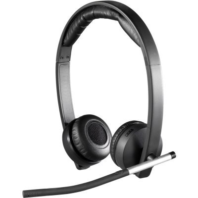 Наушники Logitech Headset Wireless H820e Stereo, [981-000517] (981-000517)