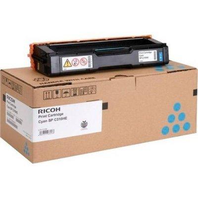 Принт-картридж Ricoh тип SPC310HE голубой, высокой емкости (6k) (406480)Тонер-картриджи для лазерных аппаратов Ricoh<br>Aficio SP C231SF/C232SF/ SP C231N/C232DN/C311N/C312DN/C320DN/C242DN/C242SF<br>