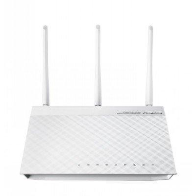 Wi-Fi роутер ASUS RT-N66W (RT-N66W)Wi-Fi роутеры ASUS<br>Беспроводной маршрутизатор  802.11n 450Mbps dual-band USB Printer/FTP Server GigaLAN<br>