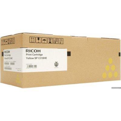 Принт-картридж Ricoh тип SPC310HE желтый, высокой емкости (6k) (406482)Тонер-картриджи для лазерных аппаратов Ricoh<br>Aficio SP C231SF/C232SF/ SP C231N/C232DN/C311N/C312DN/C320DN/C242DN/C242SF<br>