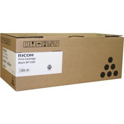 Картридж Ricoh тип SPC220 черный (2.3k) (406052)Тонер-картриджи для лазерных аппаратов Ricoh<br>Aficio SP C220S/C221SF/C222SF/ SP C220N/C221N/C222DN/C240DN/C240SF<br>