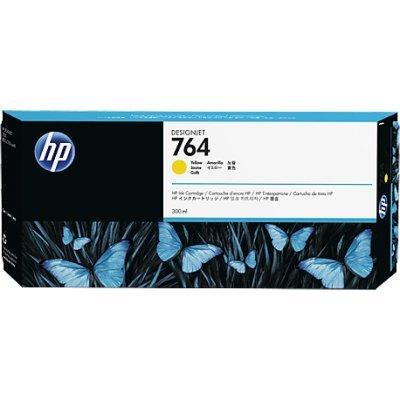 Картридж для струйных аппаратов HP № 764 желтый (C1Q15A) для  DJ T3500 300-ml (C1Q15A)Картриджи для струйных аппаратов HP<br>Струйные картриджи HP 764 обеспечивают четкость и высокое качество отпечатков. Разработанные совместно с HP Designjet в рамках оптимизированной системы печати, оригинальные чернила HP способствуют сокращению времени простоев и повышению производительности. Быстрое высыхание отпечатков помогает сохра ...<br>
