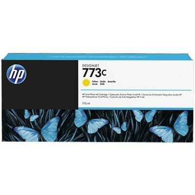 Картридж для струйных аппаратов HP № 773C желтый (C1Q40A) для DJ Z6600/Z6800 775-ml (C1Q40A)Картриджи для струйных аппаратов HP<br>HP C1Q40A - необходимый расходный материал для вашей оргтехники. Он восстановит высокое качество печати и прослужит вам максимально долго. Советуем приобрести сразу несколько картриджей, чтобы не тратить время в будущем на повторный заказ и ожидание товара, когда ресурс предыдущей покупки подойдет к ...<br>