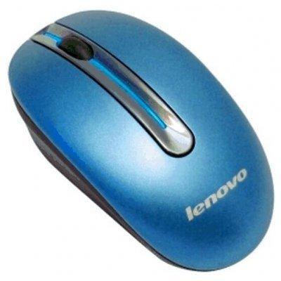 Мышь Lenovo WL Mouse N3903 Coral-Blue (888013578) (888013578)