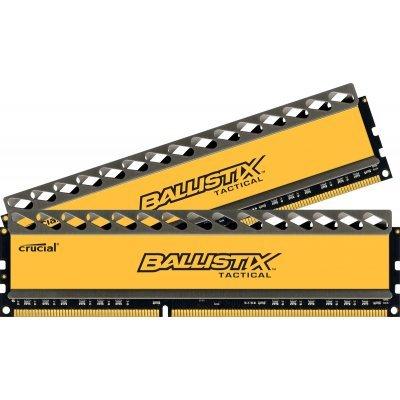 Модуль оперативной памяти ПК Crucial BLT2CP4G3D1608DT1TX0CEU (BLT2CP4G3D1608DT1TX0CEU)Модули оперативной памяти ПК Crucial<br>Память Crucial Ballistix Tactical DIMM DDR3 8Gb 1600MHz (2*4Gb) (BLT2CP4G3D1608DT1TX0CEU  ) RTL CL8<br>