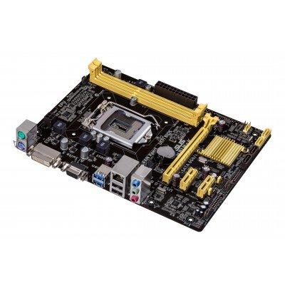 Материнская плата ПК ASUS H81M-K (90MB0HI0-M0EAY0)Материнские платы ПК ASUS<br>материнская плата форм-фактора microATX<br>сокет LGA1150<br>чипсет Intel H81<br>2 слота DDR3 DIMM, 1066-1600 МГц<br>разъемы SATA: 3 Гбит/с - 2; 6 Гбит/с - 2<br>