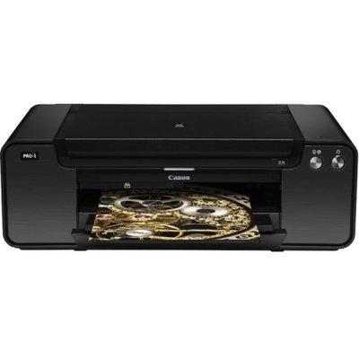 Струйный принтер Canon Pixma Pro 1 (4786B009) (4786B009)Струйные принтеры Canon<br>Принтеры и МФУ Canon одинаково популярны как для использования с домашней рабочей станцией, так и в качестве печатающих устройств для офиса. Такая востребованность принтеров и МФУ Canon объясняется очень просто — печатающие устройства этой марки сочетают в себе высокое качество печати, простоту, нев ...<br>
