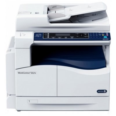 Монохромный лазерный МФУ Xerox WorkCentre 5024D (5024V_U) мфу xerox workcentre 5021 ч б a3 20ppm 600x600dpi duplex usb 5021v b