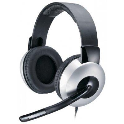 Гарнитура Genius HS-05A silver/black (31710011100) аудио наушники genius наушники headset hs 04su