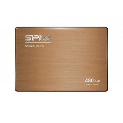 все цены на Накопитель SSD Silicon Power 240Gb SATA III V70 (SP240GBSS3V70S2) (SP240GBSS3V70S25) онлайн