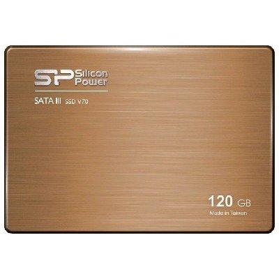 Накопитель SSD Silicon Power 120Gb SATA III V70 (SP120GBSS3V70S25) (SP120GBSS3V70S25) 120gb silicon power sp120gbss3s60s25 sata3 2 5 s60 series