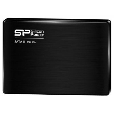 Накопитель SSD Silicon Power 60GB  S60 SP060GBSS3S60S25 (SP060GBSS3S60S25)Накопители SSD Silicon Power <br>2.5, SATA III 7mm<br>