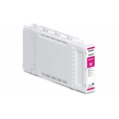 Картридж для струйных аппаратов Epson T6923 для SureColor SC-T3000/T5000/T7000 (Magenta) 110ml (C13T692300)Картриджи для струйных аппаратов Epson<br>Epson предлагает полный модельный ряд картриджей, совместимых со струйными принтерами этой компании. Оригинальные картиджи Epson обеспечат отличное качество отпечатков, устойчивых к смазыванию и выцветанию. Использование оригинальных картриджей продлевает работу вашего принтера. Настоящие картриджи  ...<br>