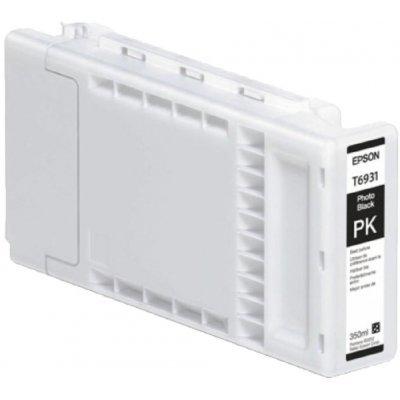 Картридж для струйных аппаратов Epson T6931 для SureColor SC-T3000/T5000/T7000 (Photo Black) 350ml (C13T693100)Картриджи для струйных аппаратов Epson<br>Epson C13T693100 - необходимый расходный материал для вашей оргтехники. Он восстановит высокое качество печати и прослужит вам максимально долго. Советуем приобрести сразу несколько картриджей, чтобы не тратить время в будущем на повторный заказ и ожидание товара, когда ресурс предыдущей покупки под ...<br>