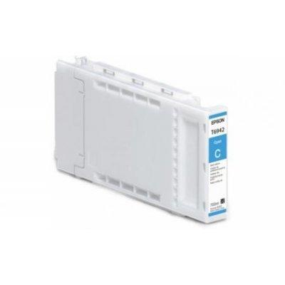 Картридж для струйных аппаратов Epson T6922 для SureColor SC-T3000/T5000/T7000 (Cyan) 110ml (C13T692200)Картриджи для струйных аппаратов Epson<br>Epson предлагает полный модельный ряд картриджей, совместимых со струйными принтерами этой компании. Оригинальные картиджи Epson обеспечат отличное качество отпечатков, устойчивых к смазыванию и выцветанию. Использование оригинальных картриджей продлевает работу вашего принтера. Настоящие картриджи  ...<br>
