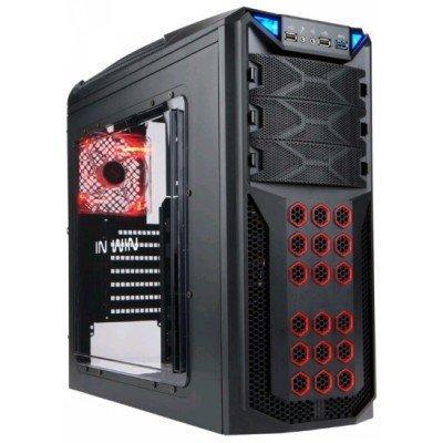 Корпус системного блока INWIN GT1 (BWR145) 600W Black (6104204)Корпуса системного блока INWIN<br>RB-S600AQ30 U2U3AF(12cm) (GT1)<br>