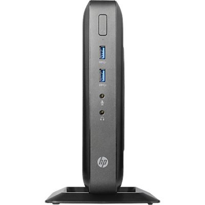 Тонкий клиент HP t520 (G9F06AA) (G9F06AA)Тонкие клиенты HP<br>HP t520 G9F06AA оборудован всеми современными портами, необходимыми для подключения к мониторам, телевизорам, проекторам, а наличие портов USB обеспечит сверхскоростной обмен данными с носителями информации. Стильный и тонкий корпус обладает совсем маленькими размерами и имеет вертикальное расположе ...<br>