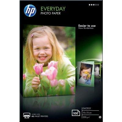 Фотобумага HP НР CR757A Глянцевая, 100 листов/10 x 15 см (CR757A)Фотобумага HP<br>HP CR757A - это фотобумага для высококачественной печати. Глянцевое покрытие поверхности обеспечивает насыщенные цвета, мгновенное высыхание чернил, долговечность отпечатков. Она рекомендуется для профессиональных дизайнеров, фотографов, художников. Фотобумага совместима как с пигментными чернилами, ...<br>