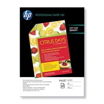 Фотобумага HP C6818A A4/160г/м2/50л Глянцевая двухсторонняя (C6818A)