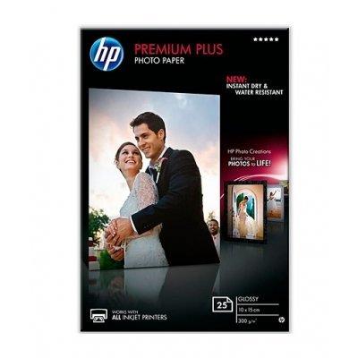 Фотобумага HP CR677A Глянцевая высшего качества, 25 листов, 10x15 см (CR677A)Фотобумага HP<br>Глянцевая фотобумага высшего качества HP CR677A позволяет получать цветные качественные снимки размера 10 х 15 см. Бумага имеет стойкость к выцветанию, смазыванию отпечатка и воздействию воды. Подходит для всех струйных принтеров.<br>