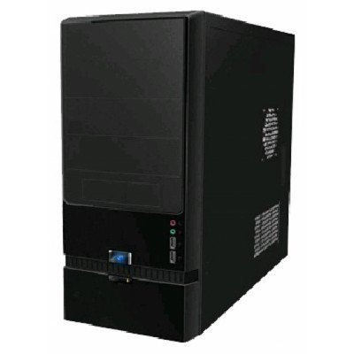Корпус системного блока INWIN EC022 450W Black (6101059) компьютерный корпус inwin in win ec021 450w black черный
