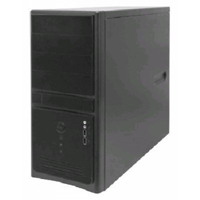 Корпус системного блока INWIN EC021 450W Black (6101058) компьютерный корпус inwin in win ec028 450w black не указан