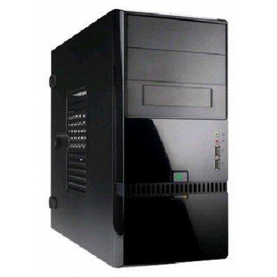 Корпус системного блока INWIN EN022 400W Black (6100468)Корпуса системного блока INWIN<br>InWin ENR-022BL 6100468: Black 400W mATX Haswell<br>