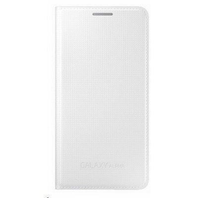 все цены на Чехол для смартфона Samsung для Galaxy Alpha EF-FG850BWE белый Flip Cover (EF-FG850BWEGRU) онлайн