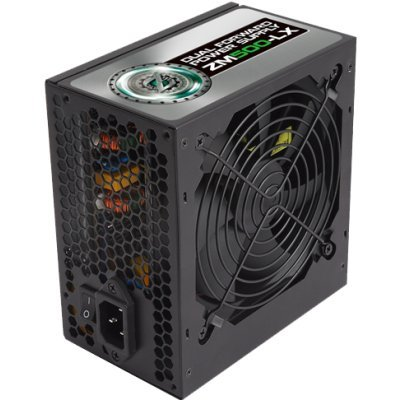 Блок питания ПК ZALMAN 500W ZM500-LX (ZM500-LX) компьютер dell optiplex 5050 intel core i3 7100t ddr4 4гб 128гб ssd intel hd graphics 630 linux черный [5050 8208]