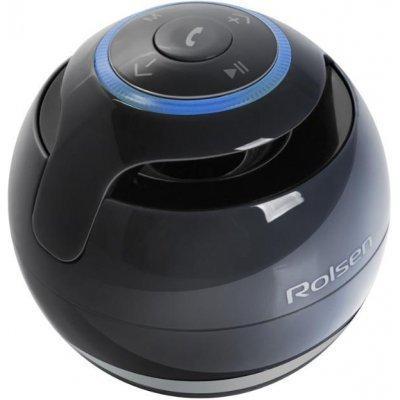 Аудиомагнитола Rolsen RBM-611BT-BU синий (1-RLAM-RBM611BT-BU)Аудиомагнитолы Rolsen<br>Rolsen RBM-611BT - это портативная акустическая система, совместимая с большинством аудио устройств. Небольшие размеры и встроенный аккумулятор дают возможность использовать колонки в мобильном режиме, в любом месте, где нет электричества. Скромные с виду динамики обеспечивают вполне серьезную громк ...<br>