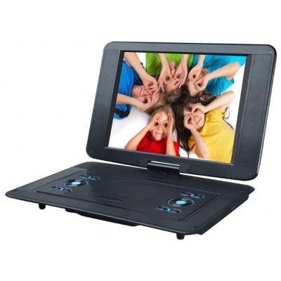 Портативный DVD плеер Rolsen RPD-15D07TBL черный (1-RLPP-RPD-15D07TBL)Портативные DVD плееры Rolsen<br>портативный DVD-плеер<br>    экран 15<br>    воспроизведение с USB-накопителей<br>    поддержка MPEG4, DivX<br>    кардридер<br>