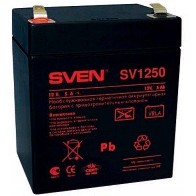 Аккумуляторная батарея для ИБП SVEN SV1250 (12V 5Ah) (SV-0222005) (SV-0222005)