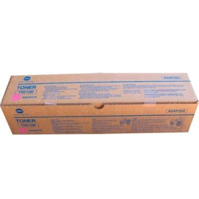 Тонер для лазерных аппаратов Konica Minolta TN-610M красный (A04P350)Тонеры для лазерных аппаратов Konica Minolta<br>Тонер TN-610M (magenta) Konica Minolta bizhub PRO C5500, красный, оригинальный, 23 000 стр. A04P350<br>