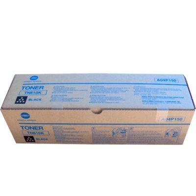 Тонер для лазерных аппаратов Konica Minolta TN-610K черный (A04P150) (A04P150)Тонеры для лазерных аппаратов Konica Minolta<br>Тонер TN-610K (black) Konica Minolta bizhub PRO C5500, черный, оригинальный, 34 000 стр. A04P150<br>