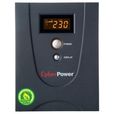 Источник бесперебойного питания CyberPower VALUE 2200E LCD (VALUE2200ELCD)Источники бесперебойного питания CyberPower<br>интерактивный ИБП<br>    1-фазное входное напряжение<br>    выходная мощность 2200 ВА / 1320 Вт<br>    выходных разъемов: 6<br>    разъемов с питанием от батареи: 6<br>    интерфейсы: USB, RS-232<br>    время зарядки 7 ч<br>