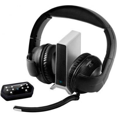 Компьютерная гарнитура Thrustmaster Y400P  Wireless Gaming Headset (4160586) (4160586)Компьютерные гарнитуры Thrustmaster<br>Thrustmaster Y400P - беспроводная компьютерная гарнитура, с мониторными наушниками. Крепление осуществляется при помощи оголовья. Данная модель оснащена встроенным регулятором громкости.<br>