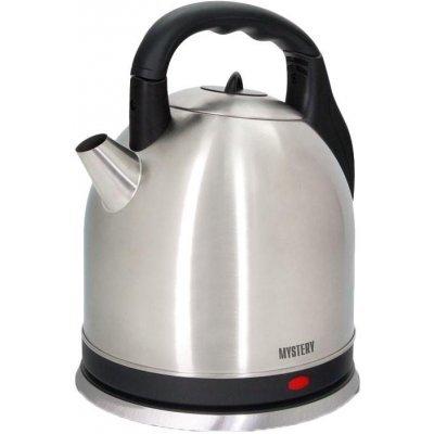 Электрический чайник Mystery MEK-1635 стальной (MEK-1635)Электрические чайники Mystery<br>Электрический чайник Mystery MEK-1635 является прекрасным решением для тех, кто любит устраивать себе перерывы в работе на чашечку чая или кофе. Он прост в управлении и долговечен в использовании. Чайник автоматически выключается при закипании.<br>