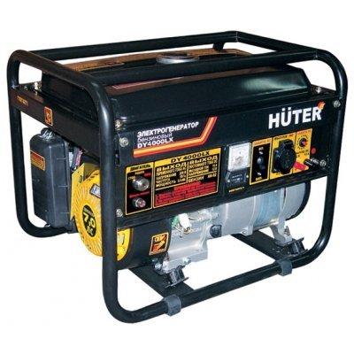 Электростанция Huter DY4000LX-электростартер (DY4000LX-электростартер)Электростанции Huter<br>бензиновая электростанция<br>    однофазная (220 вольт)<br>    мощность 2.80 кВт<br>    выход 12 В<br>    запуск ручной, электрический<br>    двигатель Huter Huter 170F<br>    вес 45 кг<br>