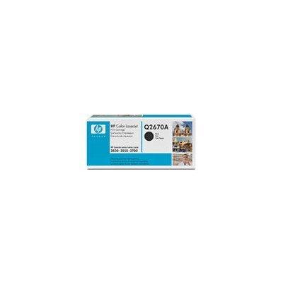 Картридж HP (Q2670A) для НР CLJ 3500/3700, черный (Q2670A)Тонер-картриджи для лазерных аппаратов HP<br>Для: HP Color LaserJet 3550n (Q5991A), 3700 (Q1321A), 3700dn (Q1323A), 3700dtn (Q1324A),<br>3700n (Q1322A)<br>
