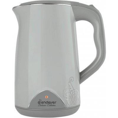 Электрический чайник Endever KR-213S (KR-213S)Электрические чайники Endever<br>Электрический чайник ENDEVER SkyLine KR-213S является прекрасным решением для тех, кто любит устраивать себе перерывы в работе на чашечку чая или кофе. Он прост в управлении и долговечен в использовании. Чайник автоматически выключается при закипании.<br>