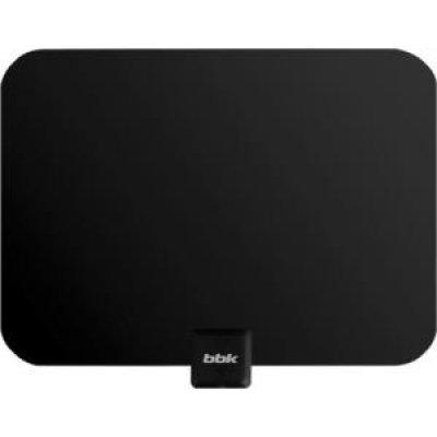 Антенна телевизионная BBK DA16 (BBK DA16)Антенны телевизионные BBK<br>Тип: комнатная; Цвет: черный; Прием сигналов HDTV: DVB-T,DVB-T2,ISDB-T,DMB-T/H,ATSC ,DAB; Питание устройства: внешний адаптер питания/питание от ресивера; Размеры (ШхВхД), мм: 330х254; Вес, кг: 0.24;<br>